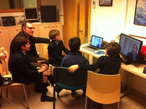 videoconferencia curiosity laboratory club juvenil codec