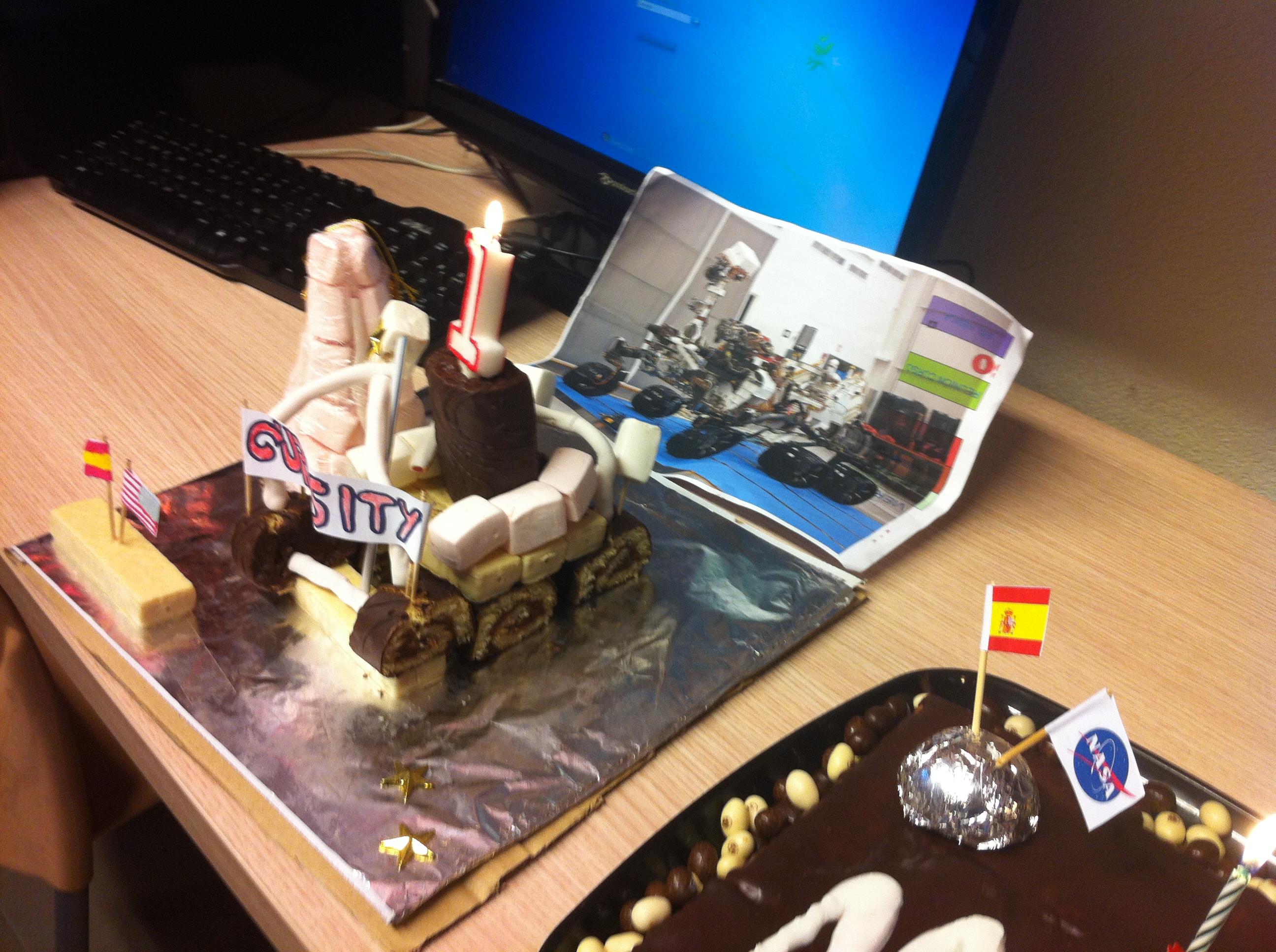 Curiosity Laboratory Aniversary
