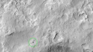 Curiosity HiRISE